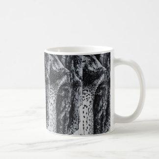 Konst för djur för djungel för djurliv för Ellie Kaffemugg