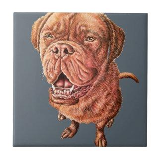 Konst för djur för teckning för hund för kakelplatta