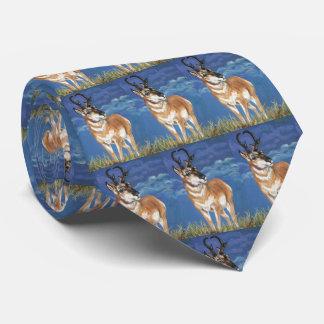Konst för djurliv för storm för Pronghorn antilop Slips