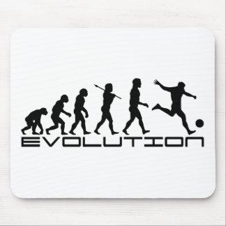 Konst för evolution för fotbollfotbollFutbol sport Musmatta