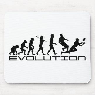Konst för evolution för Rugbyfotbollsport Musmatta
