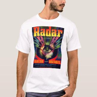 Konst för Geek för Tech för SciFi ICU för ögonglob T-shirt