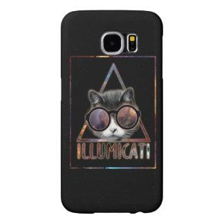Konst för Illumicati kattfodral Samsung Galaxy S6 Fodral