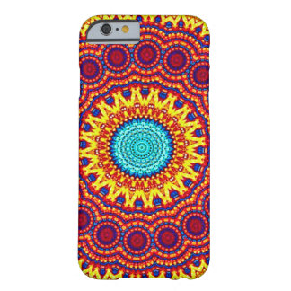Konst för Indie för solrosenergiMandala Barely There iPhone 6 Skal