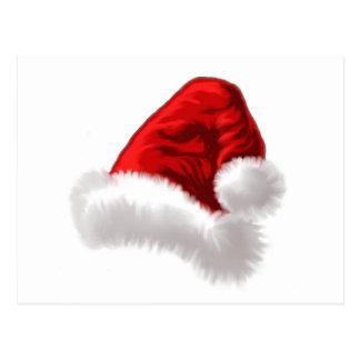 Konst för julSanta hatt Vykort