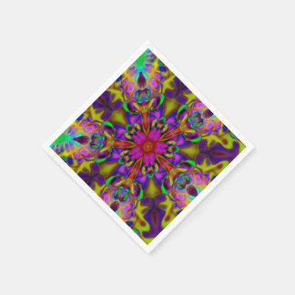 Konst för KaleidoscopeApophysisFractal - II Servett