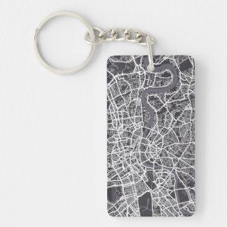 Konst för London England gatakarta