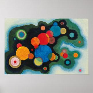 Konst för målning för Kandinsky Poster