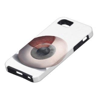 Konst för människaögaanatomi - skyddande fodral fö iPhone 5 skal
