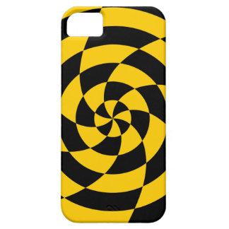 Konst för neon för Corey tiger80-tal Op (orangen) iPhone 5 Cases