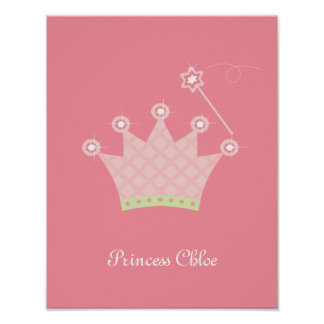 Konst för Princess Kröna Personifiera Lura Vägg Affischer