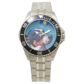 Konst för råttaTerrierpop Armbandsur