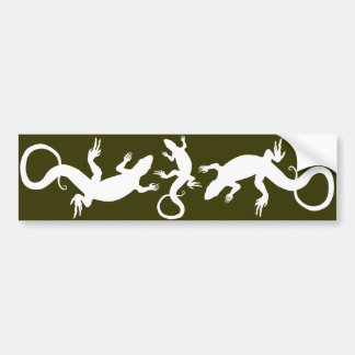 Konst för reptil för bildekal för ödla för ödlakon