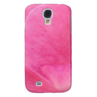 Konst för rosa rosPetal - temadekorationer Galaxy S4 Fodral