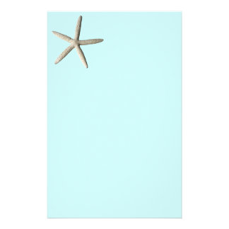 Konst för sjöstjärnastrandfoto brevpapper