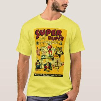 Konst för tecknad för toppen hjälte för vintage tshirts