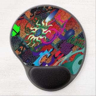konst för U-plocka färggrafitti på tegelstenväggen Gelé Mus-mattor