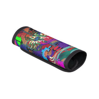 konst för U-plocka färggrafitti på tegelstenväggen Handtagskydd