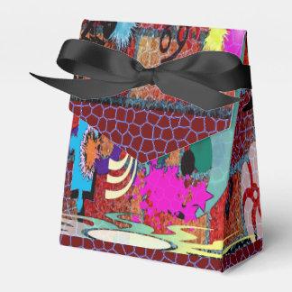 konst för U-plocka färggrafitti på tegelstenväggen Pappersask