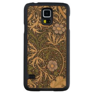 Konst för vintage för William Morris Carved Körsbär Galaxy S5 Slim Skal