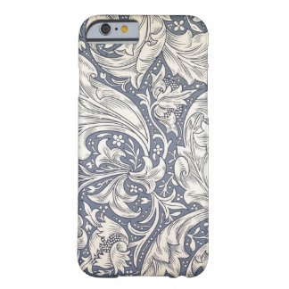 Konst för vintage för William Morris daisydesign Barely There iPhone 6 Skal