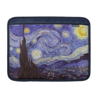 Konst för vintage Vincent Van Gogh för Starry natt MacBook Sleeves