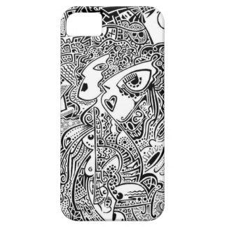 Konst Indien iPhone 5 Case-Mate Cases