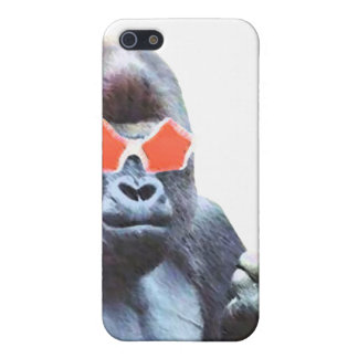 Konst Iphone 4 för gorillamiddlefingergata & iPhone 5 Hud