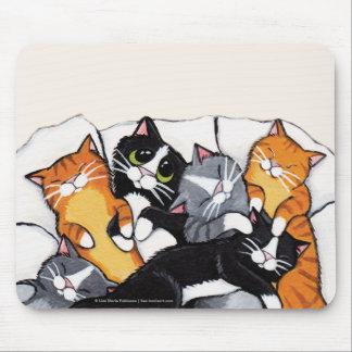 Konst Mousepad för katt för tux- och tabby Musmatta