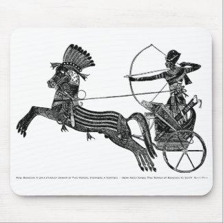 Konst Mousepad för vintage för kung Ramesses II Musmatta