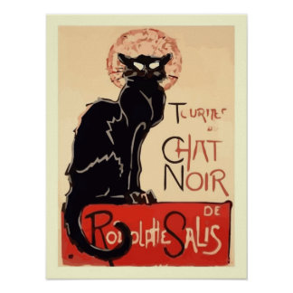Konst Tournee du Prata Noir Poster