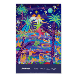 Konstaffisch: Kärlek under månen Poster