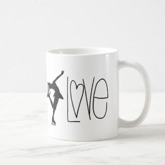 Konståkarekärlek Kaffemugg