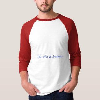 Konsten av förförelse t shirts