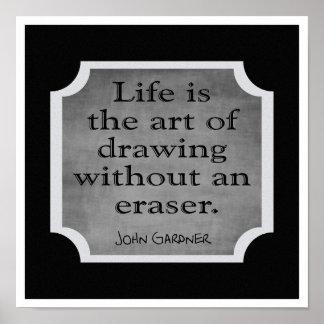 Konsten av liv --- Konsttryck Poster
