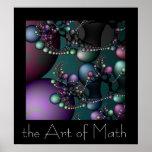 Konsten av Math Posters