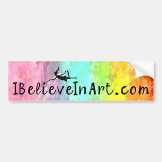 Konstfe: befordrings- IBelieveInArt.com Bildekal