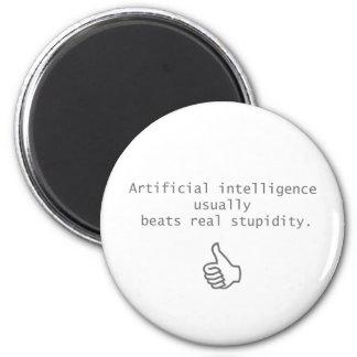 konstgjord intelligens slår verklig stupidity magnet