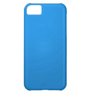 Konstnären skapad blåttfärg skuggar: Tillfoga txt iPhone 5C Fodral