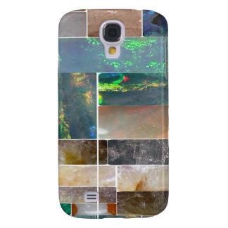 Konstnärlig Collage för CRYSTAL marmor: Galaxy S4 Fodral