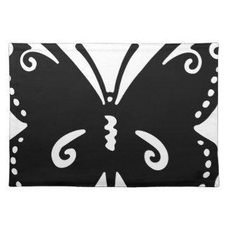 Konstnärlig fjäril bordstablett