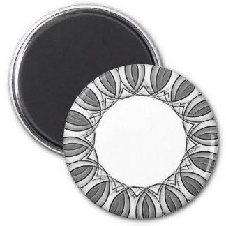 konstnärlig kaleidoscopebakgrund magnet rund 5.7 cm