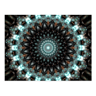 Konstnärlig kreativitet för Mandala som skapas av Vykort