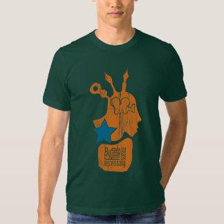 konstnärlig kvalitets- t-skjorta för propaganda tee shirt