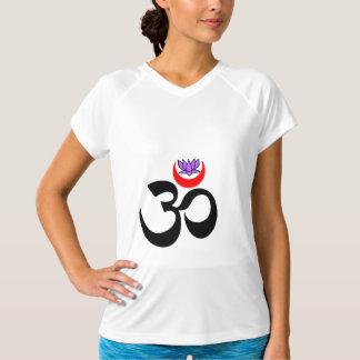 Konstnärlig Om - Yogagenomkörareskjorta T-shirts