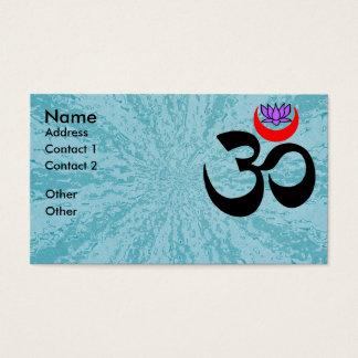 Konstnärlig Om - Yogavisitkort Visitkort