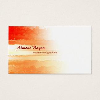 konstnärlig visitkort
