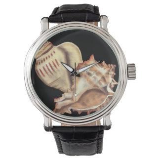 Konstnärliga Conchsnäckor Armbandsur