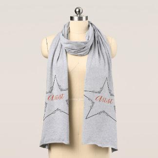 Konstnärscarf Sjal