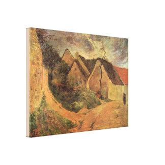 KonstOsny stormigt väder av Paul Gauguin Canvastryck